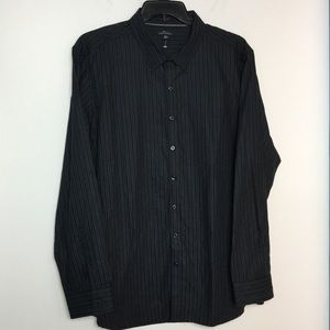 Marc Anthony XXL Button Front Shirt Slim Fit NWOT